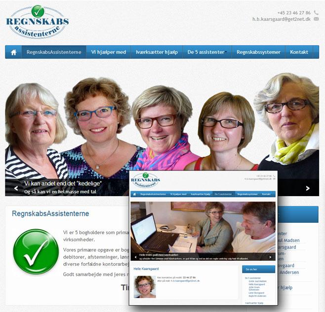 Regnskabsassistenternes nye hjemmeside