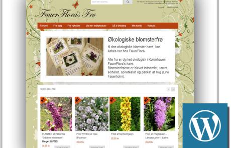 Blomsterfrø-Webshop