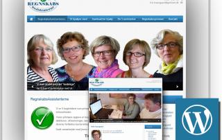 Regnskabsassistenterne website