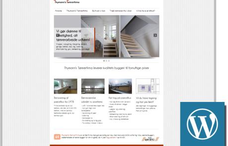 Tømrer-website