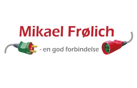 Optimering af logo til Mikael Frølich