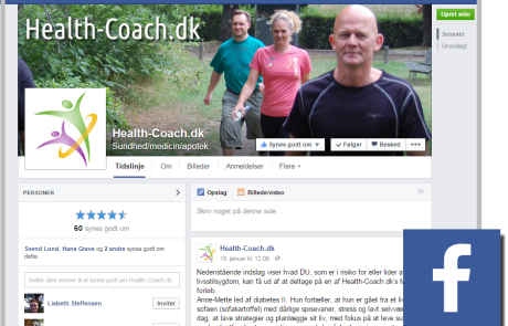 Health Coach facebook