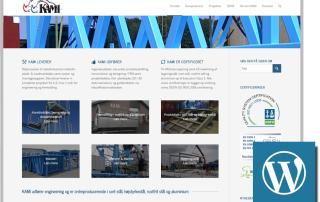 Redesign af KAMI hjemmeside