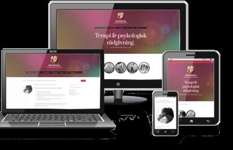 Webdesign til Mindstitute