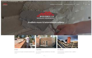 Hjemmeside til håndværker