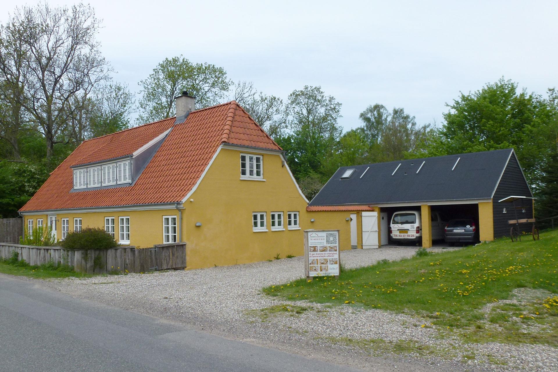 Huset hvor FauerWeb holder til