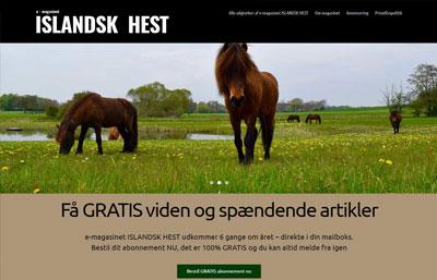 Magasin om Islandske Heste
