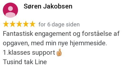 Anbefaling Søren Jakobsen
