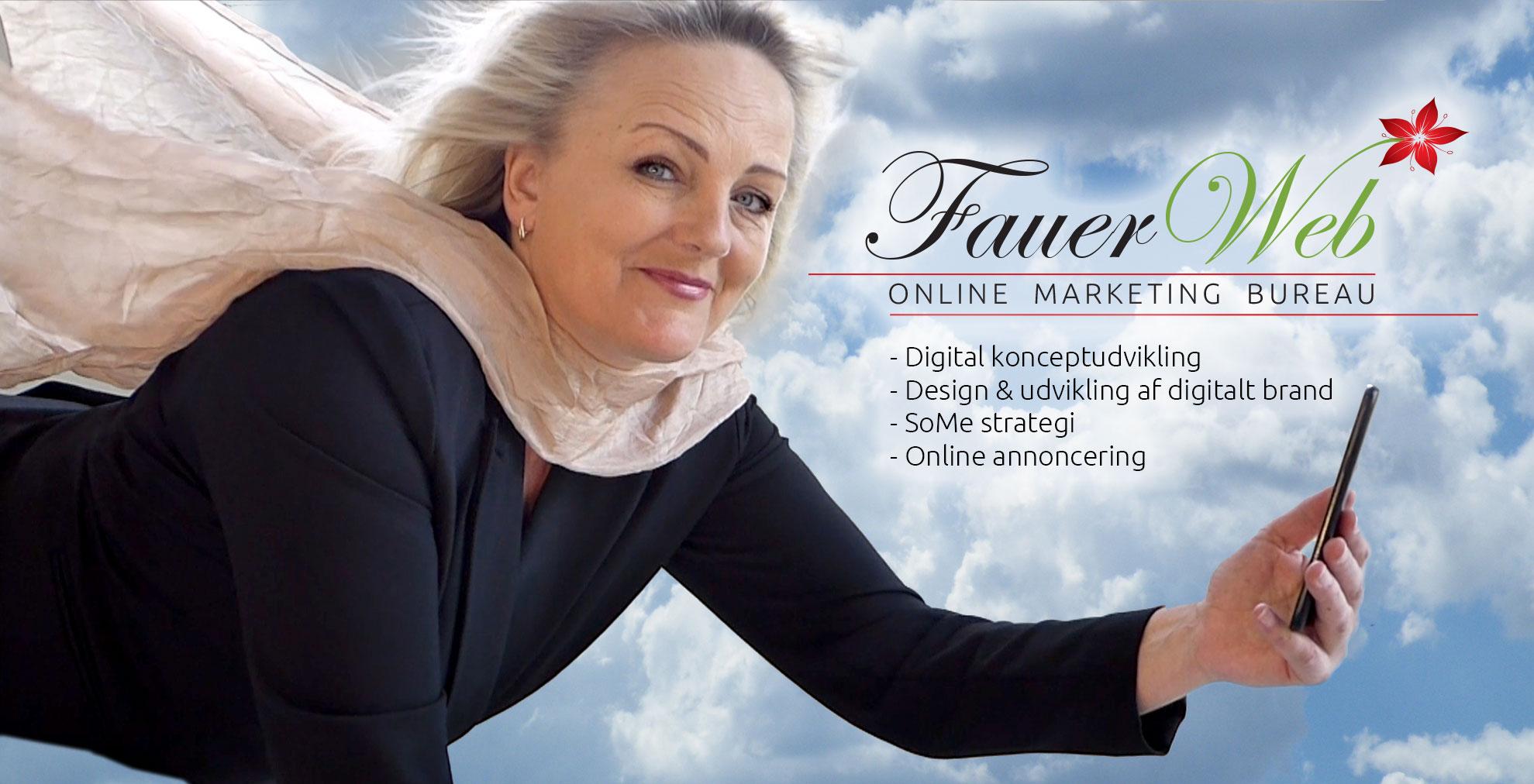 Line Fauerholm hjælper dig flyvende online