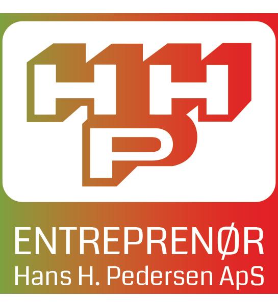 Moderniseret logo til farvet baggrund