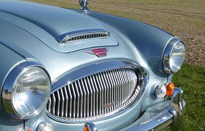 Retro design af hjemmeside til klassiske biler
